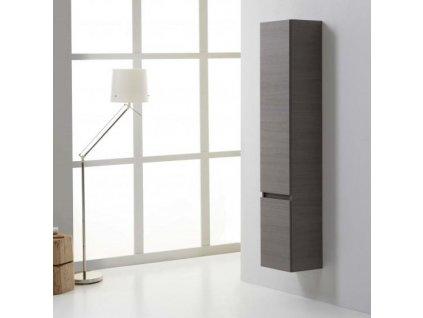 58508 kvstore manhattan koupelnova skrinka vysoka zavesna se dvema dvirky seda