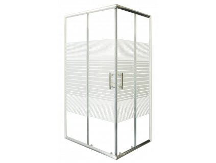 58610 sanotechnik obdelnikovy sprchovy kout 100x80cm posuvne dvere