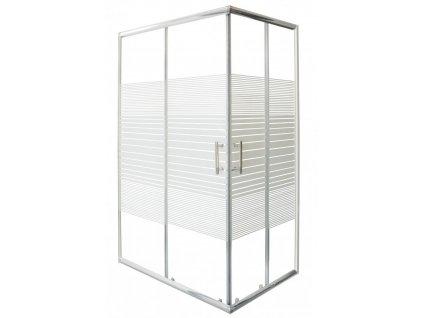 58613 sanotechnik obdelnikovy sprchovy kout 120x80cm posuvne dvere