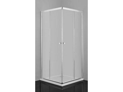 58616 sanotechnik ctvercovy sprchovy kout sirka 80cm posuvne dvere