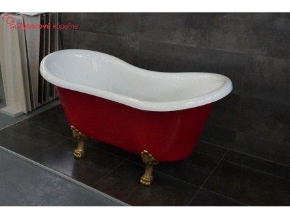 58688 bath italia artemida akrylatova volne stojici vana 158x78 cm
