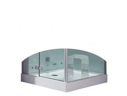 59072 eago sprchova vanicka akrylat ctverec 100cm dz989