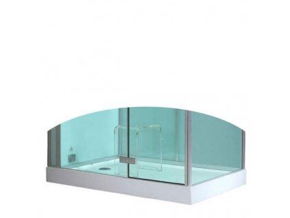 59075 eago sprchova vanicka akrylat obdelnik 120x90cm dz990