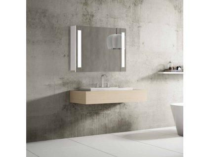 Hapa Design Venedig zrkadlová skrinka 80cm, s LED osvetlením, biela 01