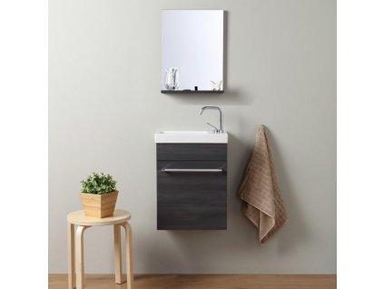 59825 kvstore smart levny koupelnovy nabytek do male koupelny 42cm tmavy dub