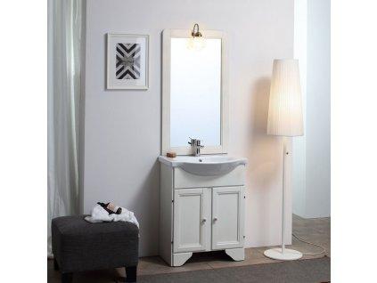 59843 kvstore lavanda retro koupelnovy nabytek 65cm bily
