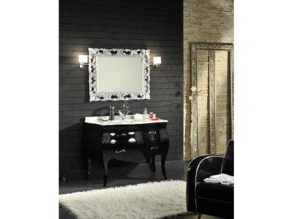 59864 kvstore baroko koupelnovy nabytek lipari cerny 115 5x198x57 cm