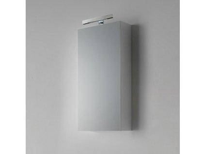 59885 kvstore agata penelope koupelnova skrinka zrcadlova leskla bila 45x90cm