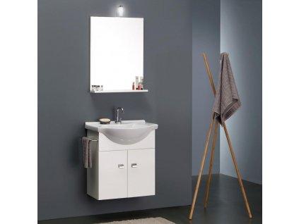 59891 kvstore lacny koupelnovy nabytek do male koupelny 58cm bily