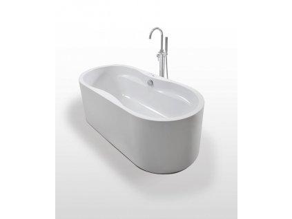 59993 1 sanotechnik liverpool akrylatova volne stojici vana 170x80 cm