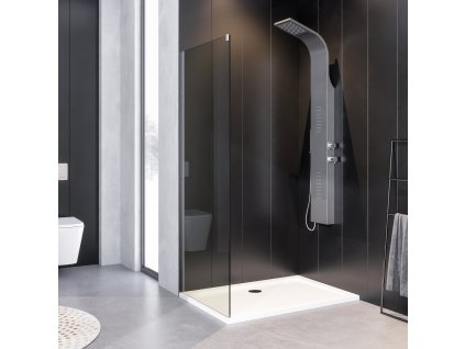 60068 aquatek zeus f1 sprchova stena sirka 80cm pevna cast