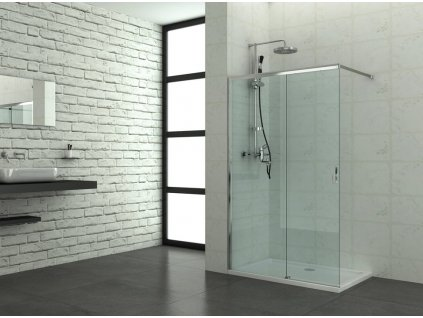 60278 1 sanotechnik soho elite chrome sprchova zastena walk in sirka 120cm oteviraci dvere