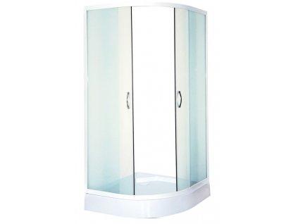 60320 sanotechnik ctvrtkruhovy sprchovy kout sirka 90cm posuvne dvere