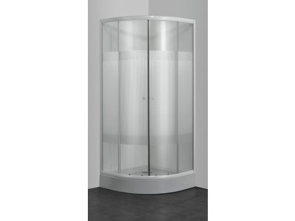 60329 sanotechnik ctvrtkruhovy sprchovy kout sirka 80cm posuvne dvere