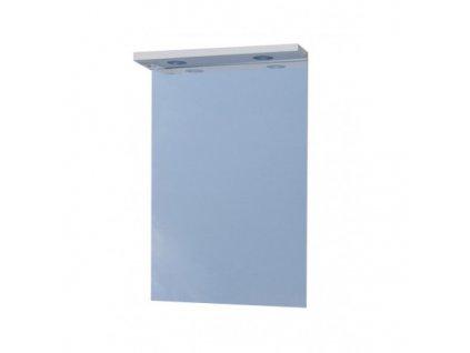 51356 sanotechnik sanremo lux 65 zrkadlo 61 cm s halogenovym osvetlenim