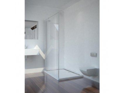 D1170 D1180 D1190 D11100 D11120 Sanotechnik Smartflex pevná sprchová stěna Walk In, šířka 70 120cm