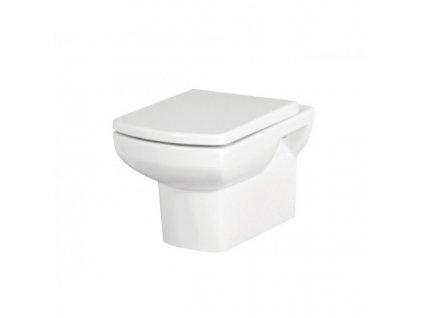 51791 Sanotechnik Nero WC závěsné se sedátkem 53 5x35 5x32 cm