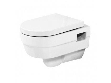 51800 Sanotechnik Jade WC závěsné se sedátkem 52x35x40 cm