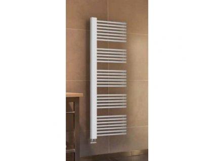 L800 Sanotechnik Linz radiátor do koupelny 605W, bílý, rovný 01