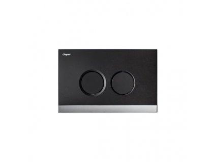 52016 Sanotechnik Teos tlačítko černá chrom pro nádrže Sanotechnik sp114 sp116 sp204