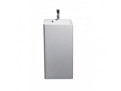 52061 Sanotechnik volné stojací umyvadlo z litého mramoru 45 x 44 5 x 83 cm