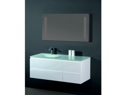 Sanotechnik Cube koupelnový nábytek, 100cm, bílý 02