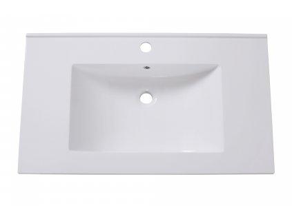 Sanotechnik Soho Black koupelnový nábytek, 80cm, černý 01