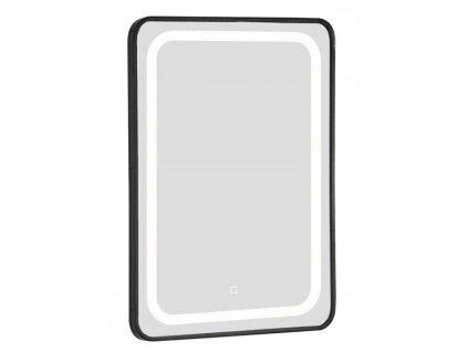 52235 sanotechnik soho black zrkadlo s led osvetlenim 80x60 cm cierne