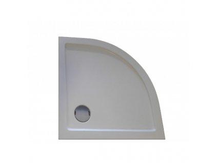 GR80 GR90 GR100 Sanotechnik Zeus sprchová vanička, akrylát, čtvrtkruh, 80 100cm