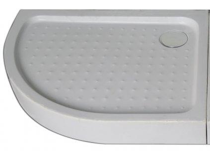 P79R Sanotechnik sprchová vanička, ABS, čtvrtkruh, šířka 70x90cm, pravá, pro sprchový kout T790C 02