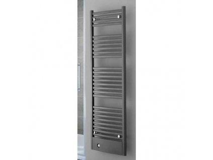 Sanotechnik Graz radiátor do koupelny 907W, antracit, rovný