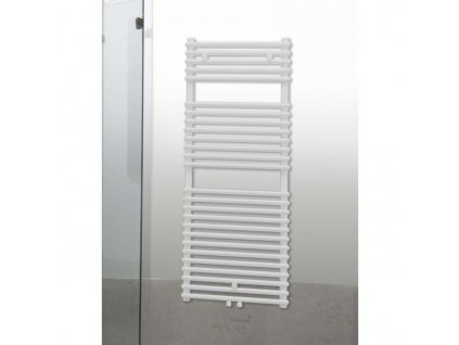 Sanotechnik Catania radiátor do koupelny 866W, bílý, rovný