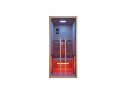 F20090 Sanotechnik Ruby 1 infrasauna pre 1 osobu, 90x100cm 01
