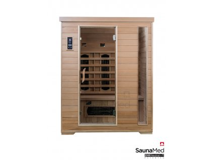 Infrasauna SaunaMed Classic pro 3 osoby ISMC3 1
