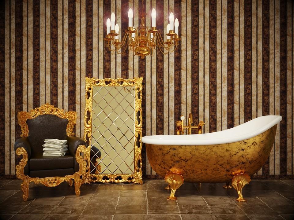 Štýlová kúpeľňa bez obkladov