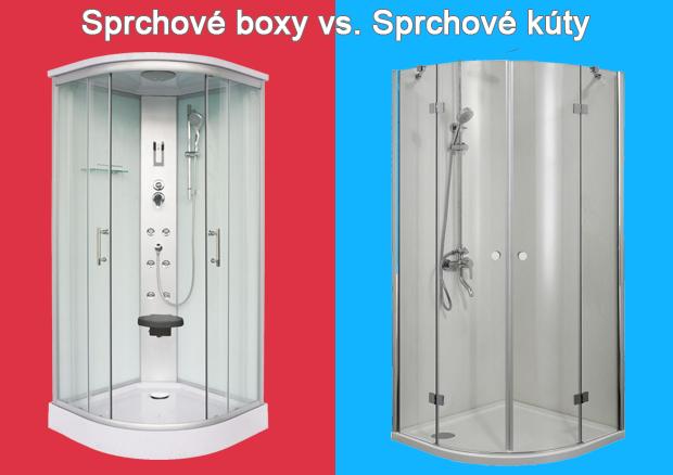 Sprchové boxy vs. sprchové kúty