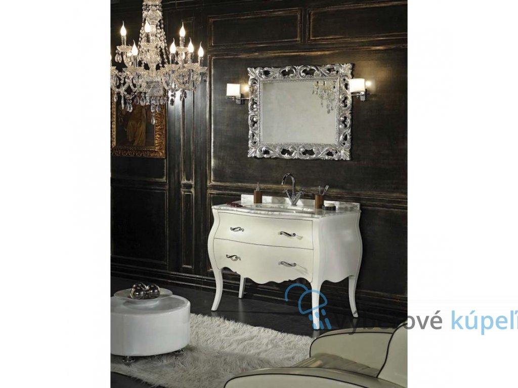 11138 kvstore baroko kupelnovy nabytok lipari biely 115 5x198x57 cm