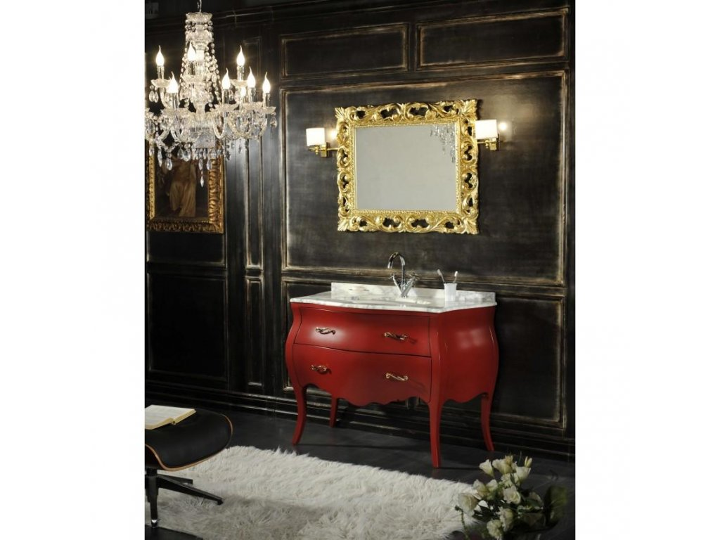 11141 kvstore baroko kupelnovy nabytok lipari cerveny 115 5x198x57 cm
