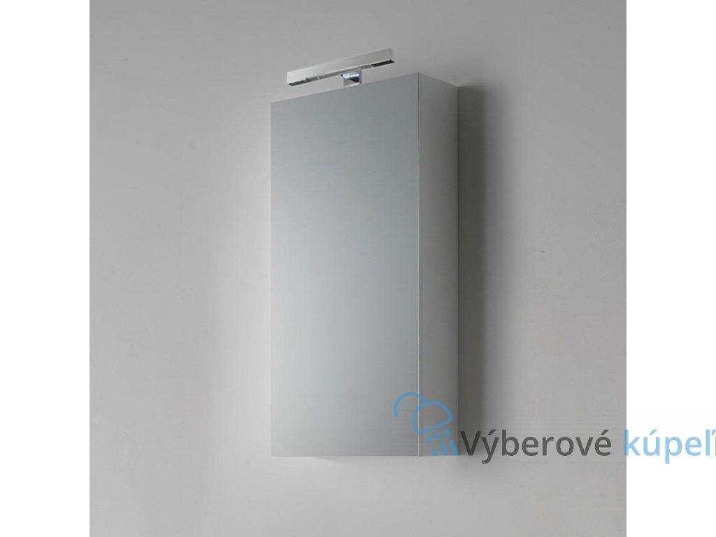 11168 kvstore agata penelope kupelnova skrinka zrkadlova leskla biela 45x90cm