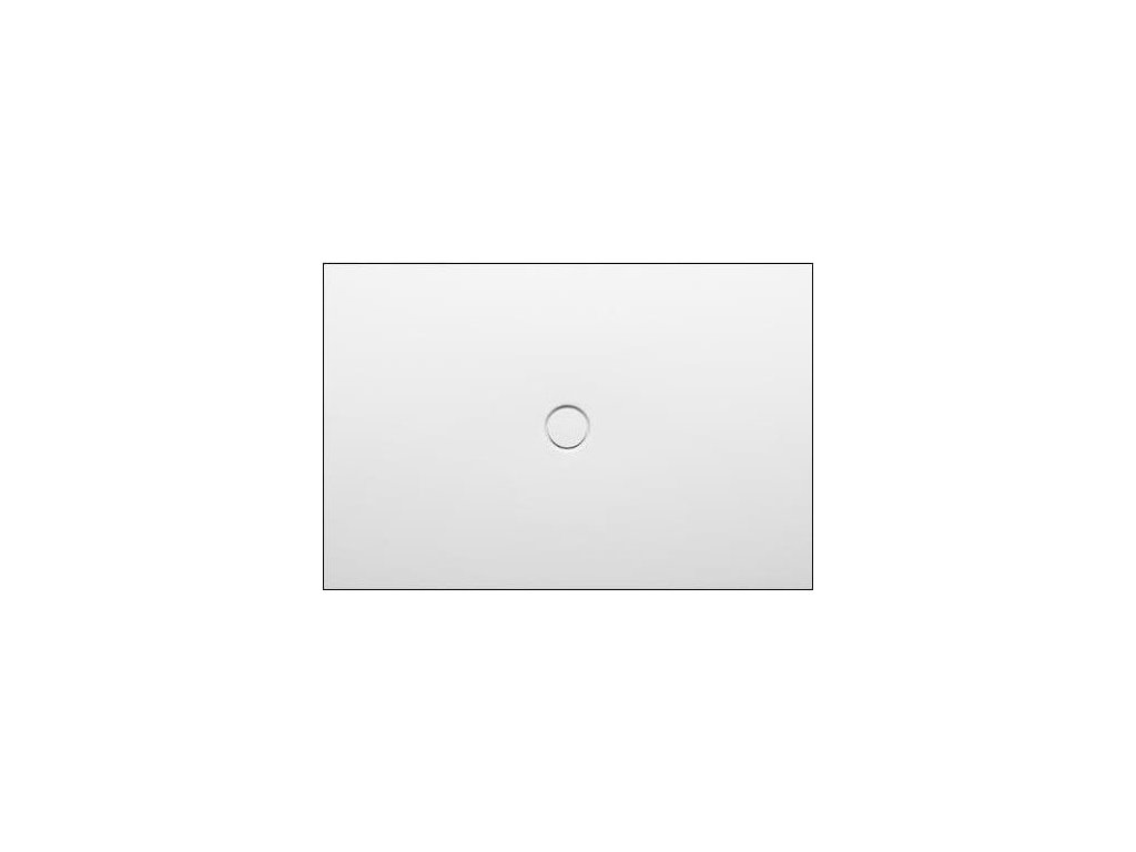 11336 bette floor sprchova vanicka glazovana titanova ocel obdlznik 120x80cm