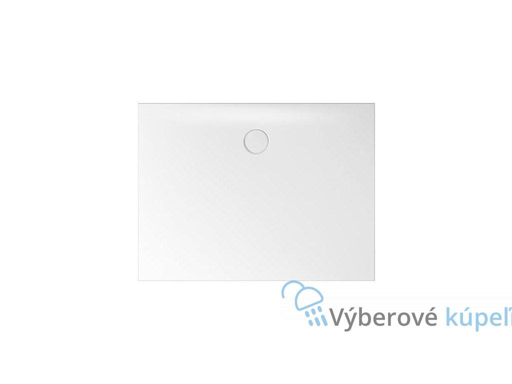 11342 bette floor side sprchova vanicka glazovana titanova ocel obdlznik 120x90cm
