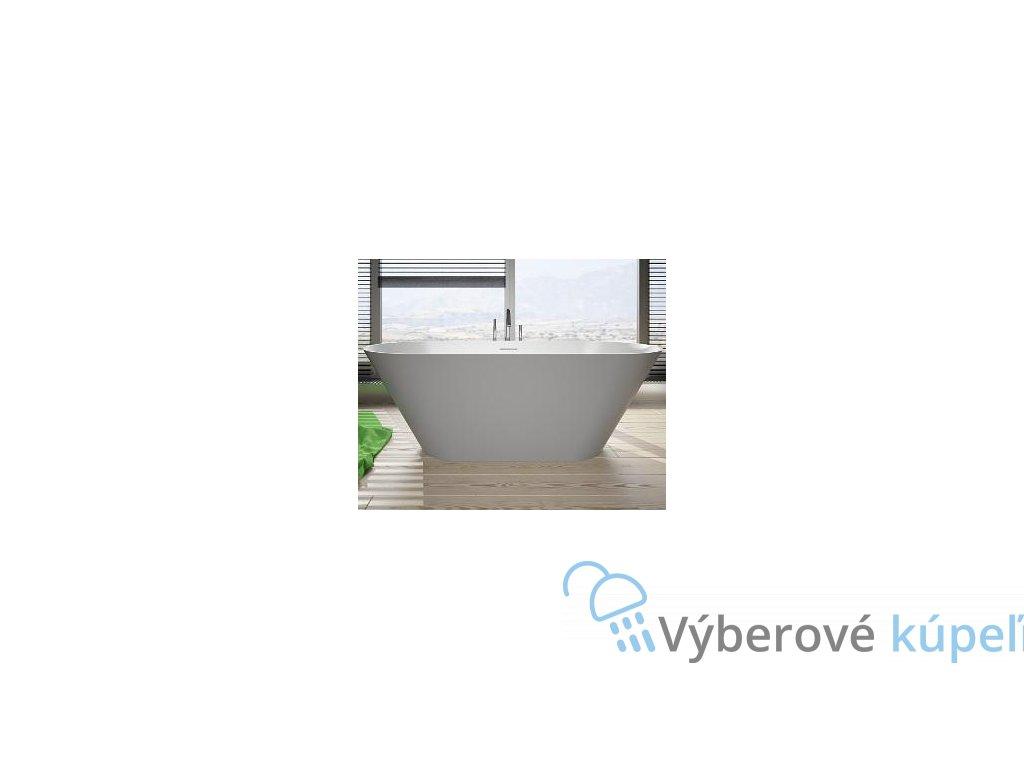 12032 riho barcelona volne stojaca vana z liateho mramoru 170x70 cm