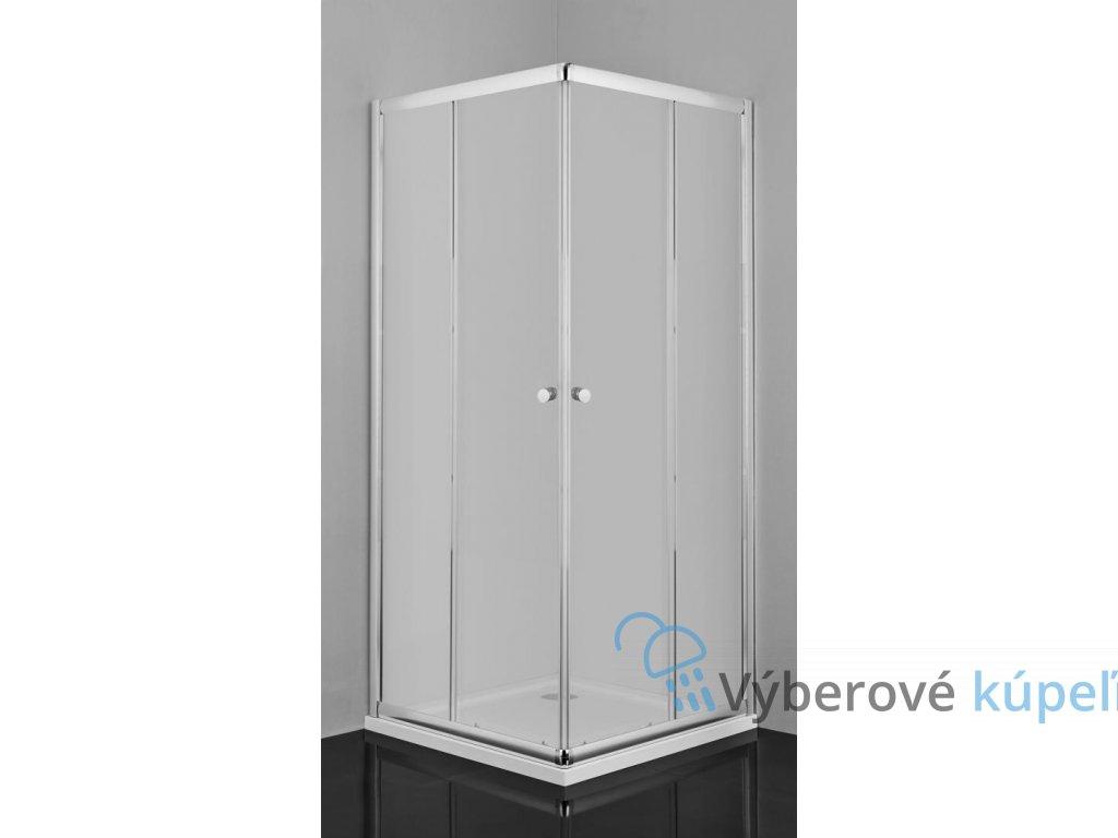 12449 sanotechnik stvorcovy sprchovy kut sirka 90cm posuvne dvere
