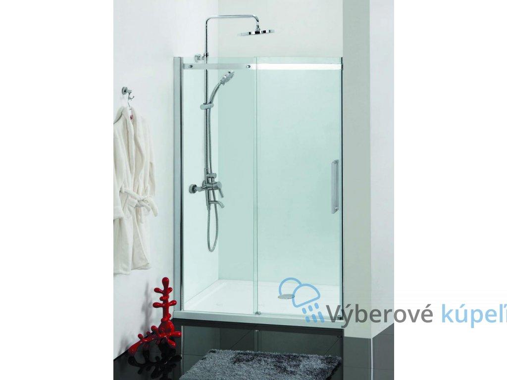 12467 sanotechnik elegance sprchove dvere sirka 120cm posuvne montazny set na stenu