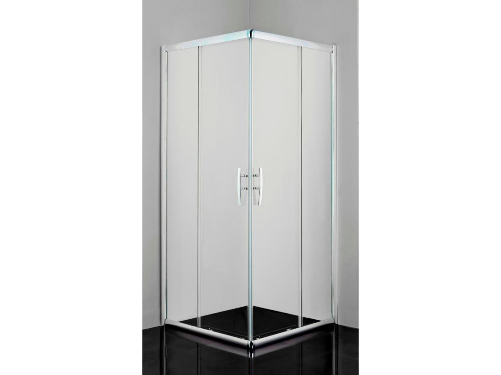 12479 sanotechnik pro line stvorcovy sprchovy kut sirka 90cm posuvne dvere