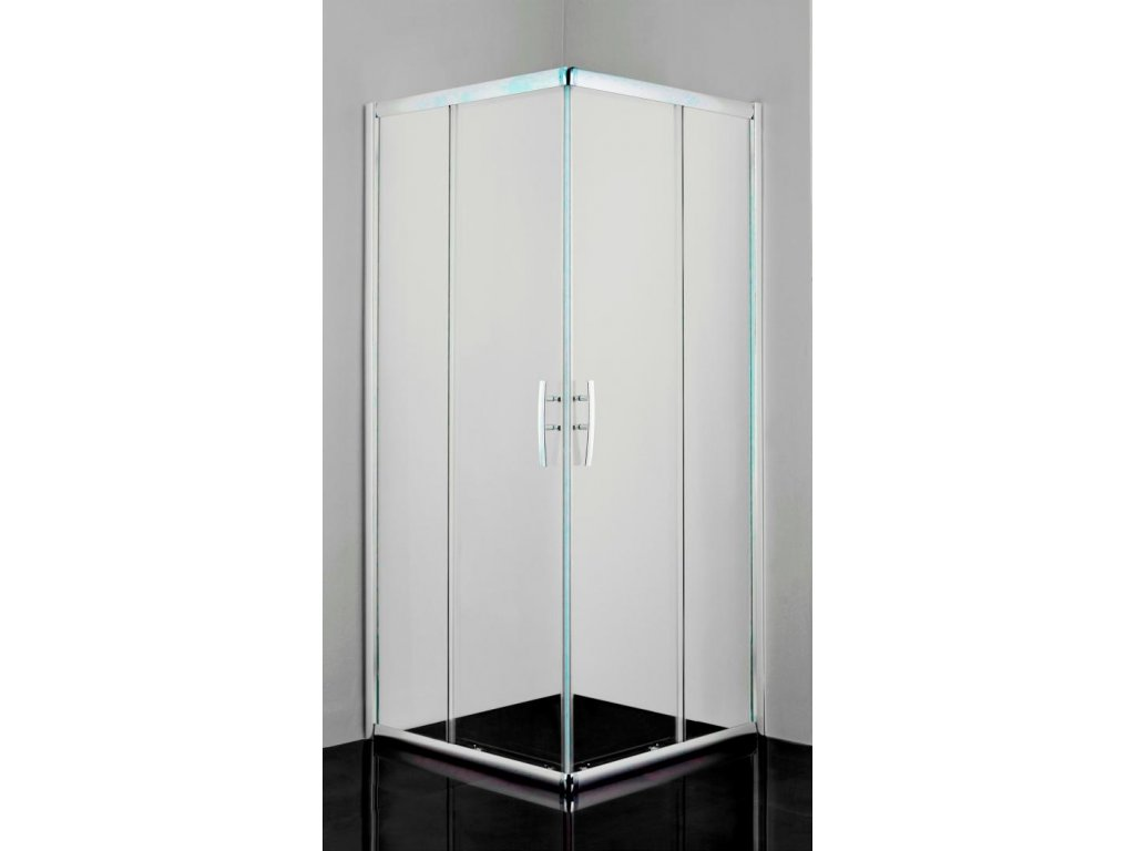 12482 sanotechnik pro line stvorcovy sprchovy kut sirka 100cm posuvne dvere