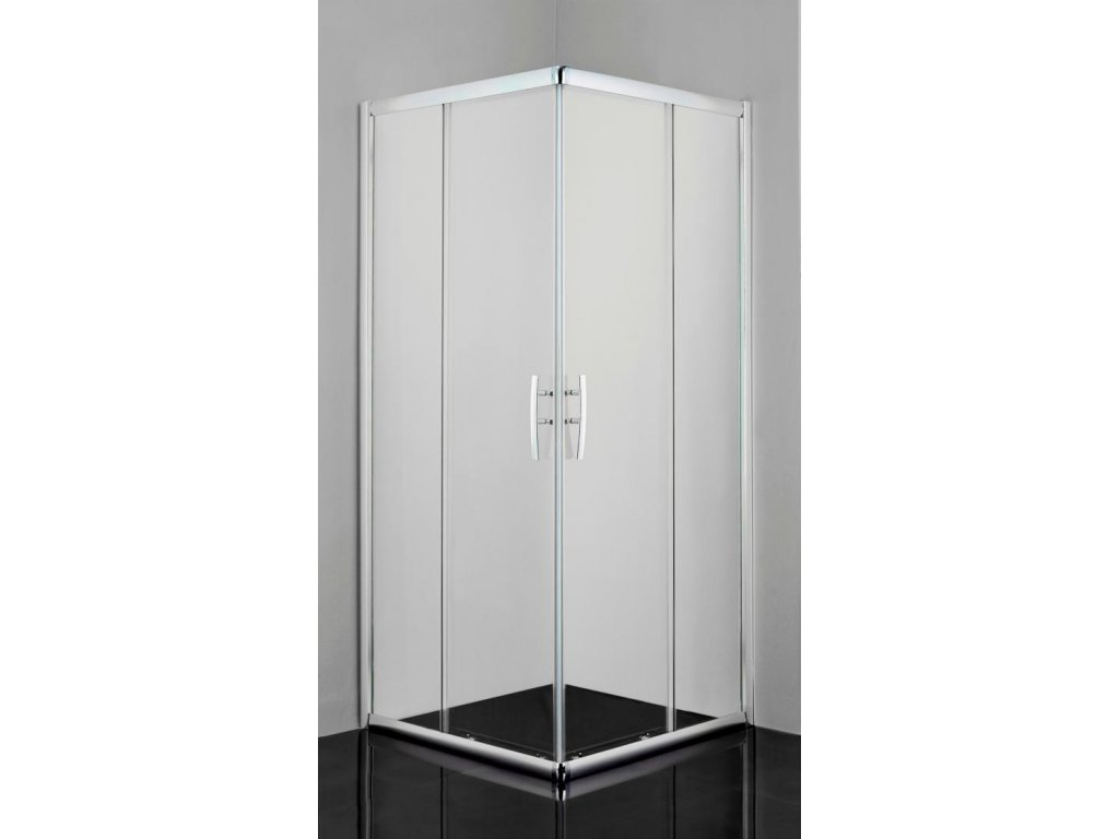 12488 sanotechnik pro line obdlznikovy sprchovy kut 100x90cm posuvne dvere