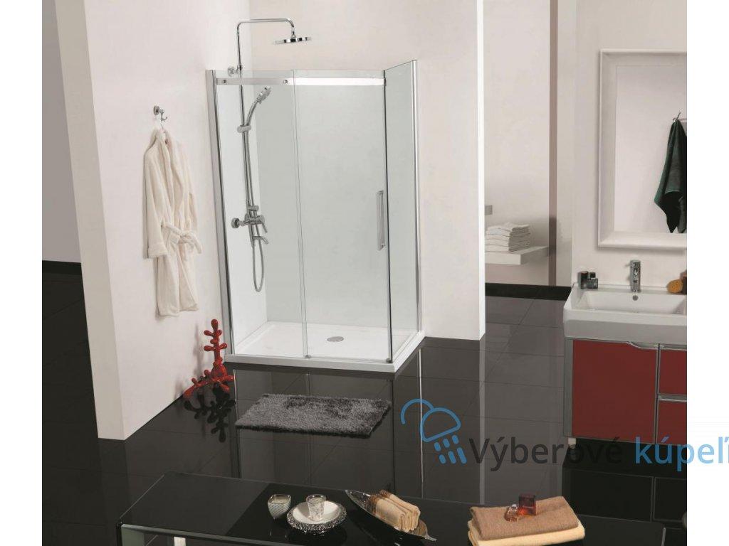 12509 1 sanotechnik elegance obdlznikovy sprchovy kut 120x90cm fix posuvne dvere