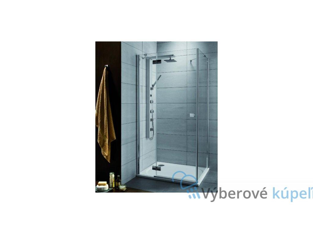 2462 radaway almatea kdj stvorcovy sprchovy kut sirka 90cm fix otvarave dvere matne sklo 32102 01 12nl