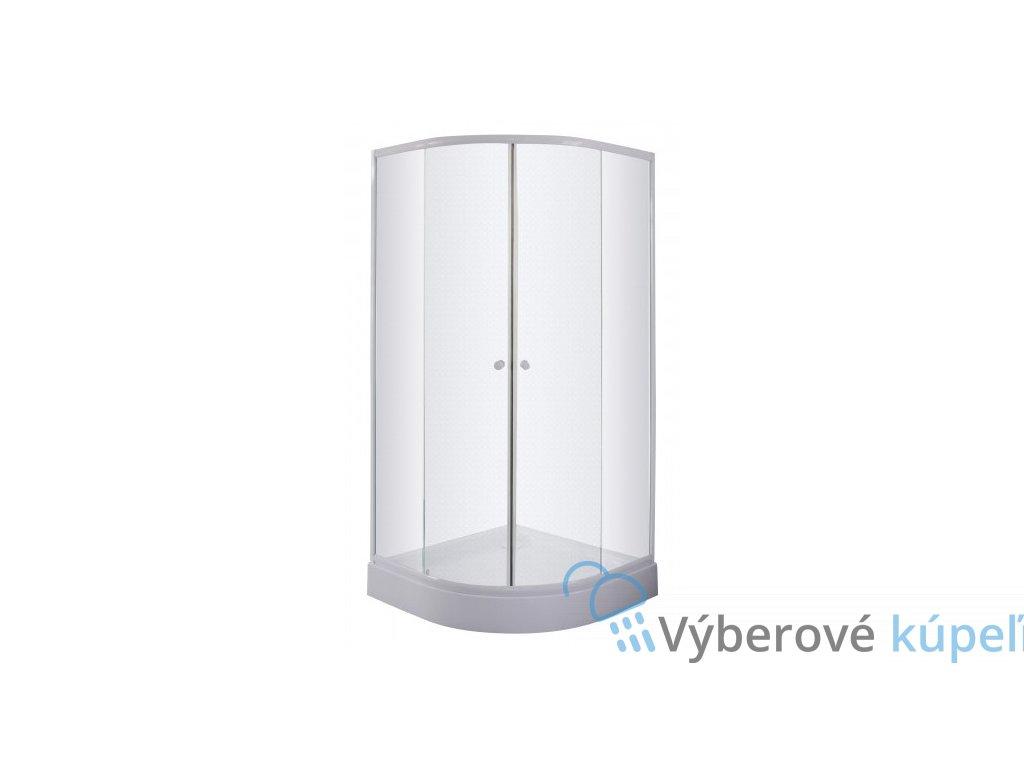 39761 sanotechnik stvrtkruhovy sprchovy kut sirka 90cm posuvne dvere